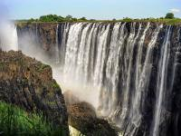 Victoria Falls from the Zambia side