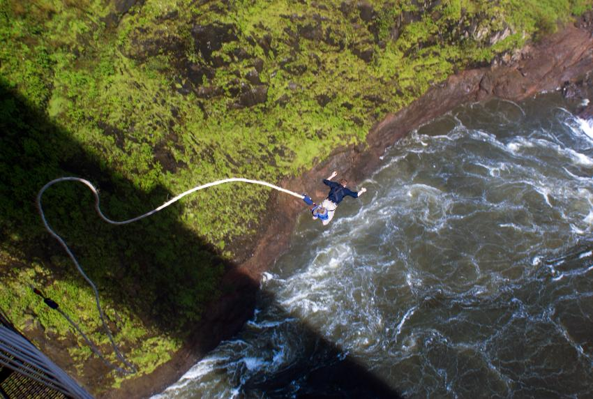 Optional excursion: Bungee Jumping