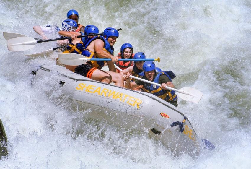Optional Excursion: Whitewater Rafting